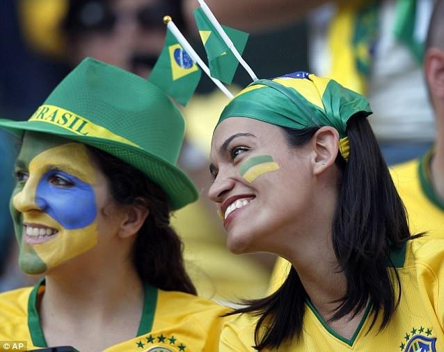 2014 Dünya Kupası güzelleri
