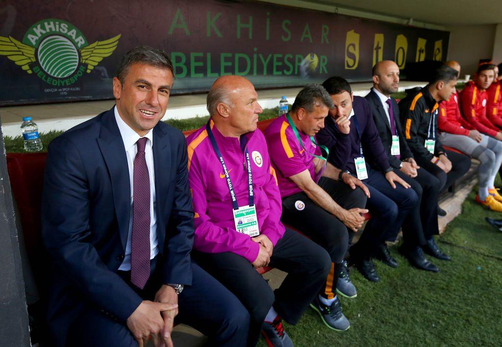Akhisar Belediyespor - Galatasaray maçından kareler
