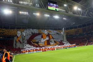Arena'da Avrupa'yı hayran bırakan koreografi
