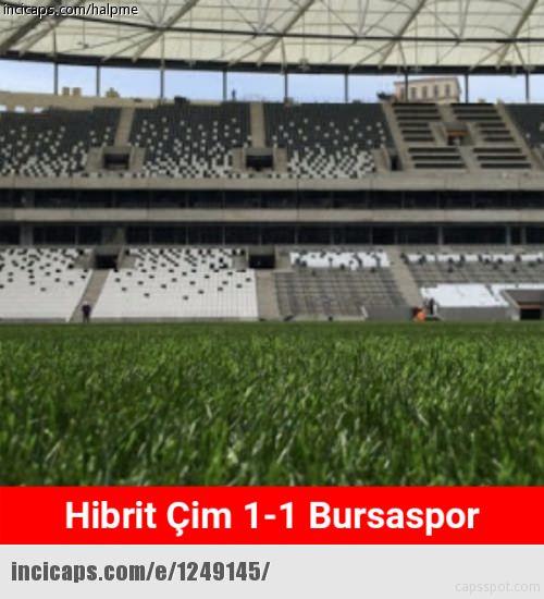 Beşiktaş - Bursaspor maçı capsleri