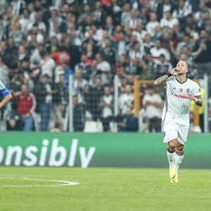 Beşiktaş - Dinamo Kiev maçından kareler