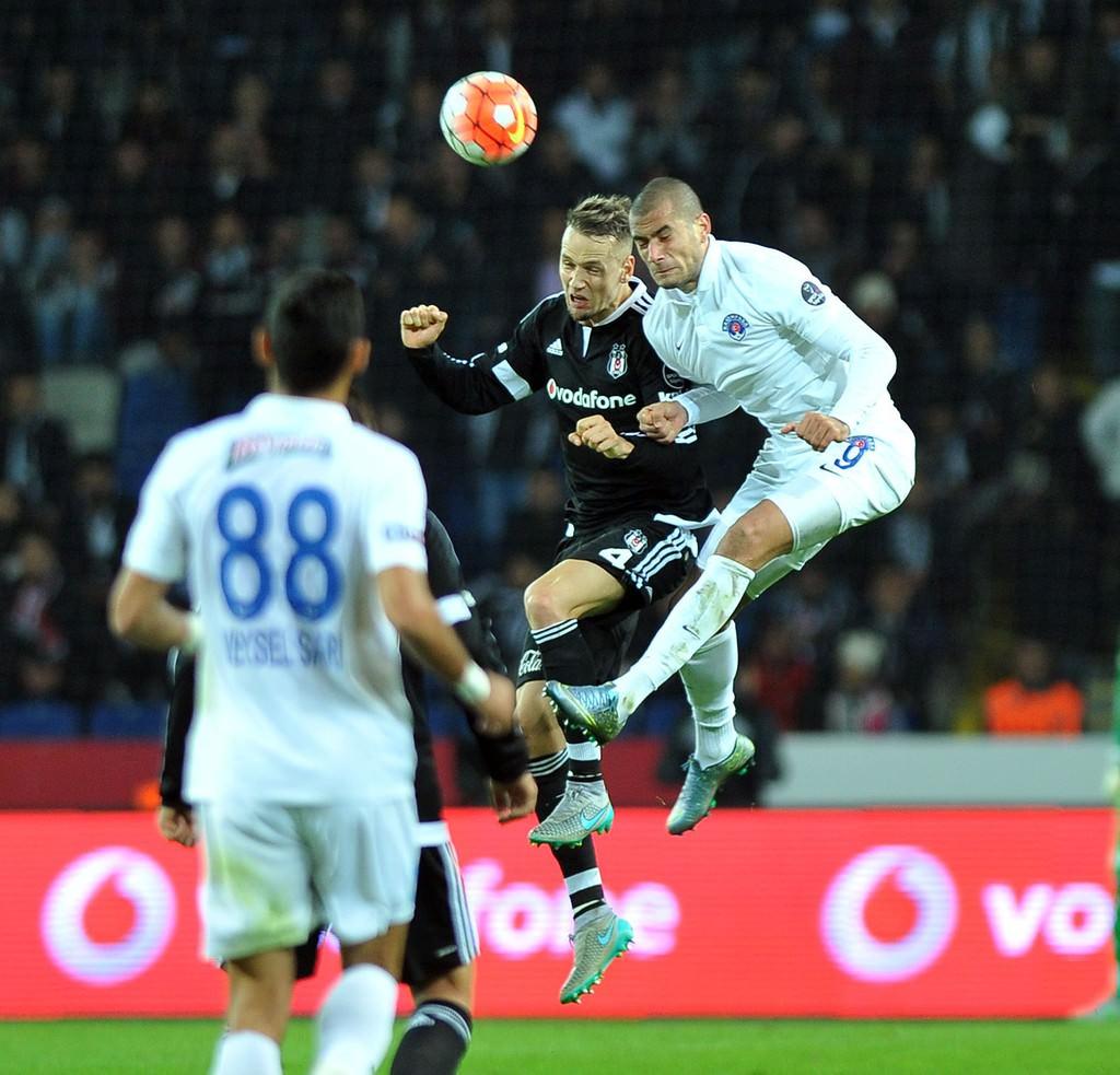 Beşiktaş-Kasımpaşa maçından kareler