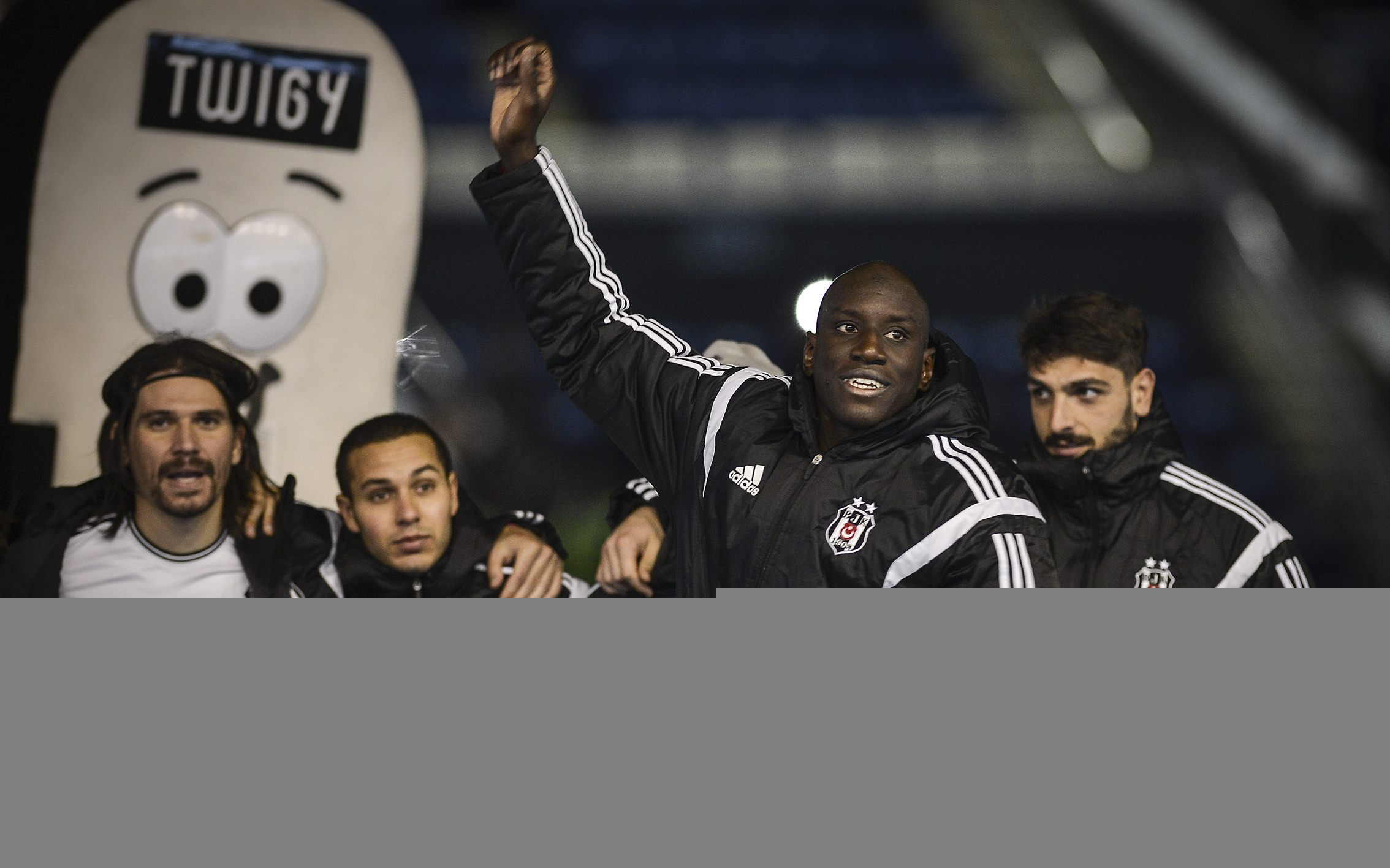 Beşiktaş Mersin İdmanyurdu maçından kareler