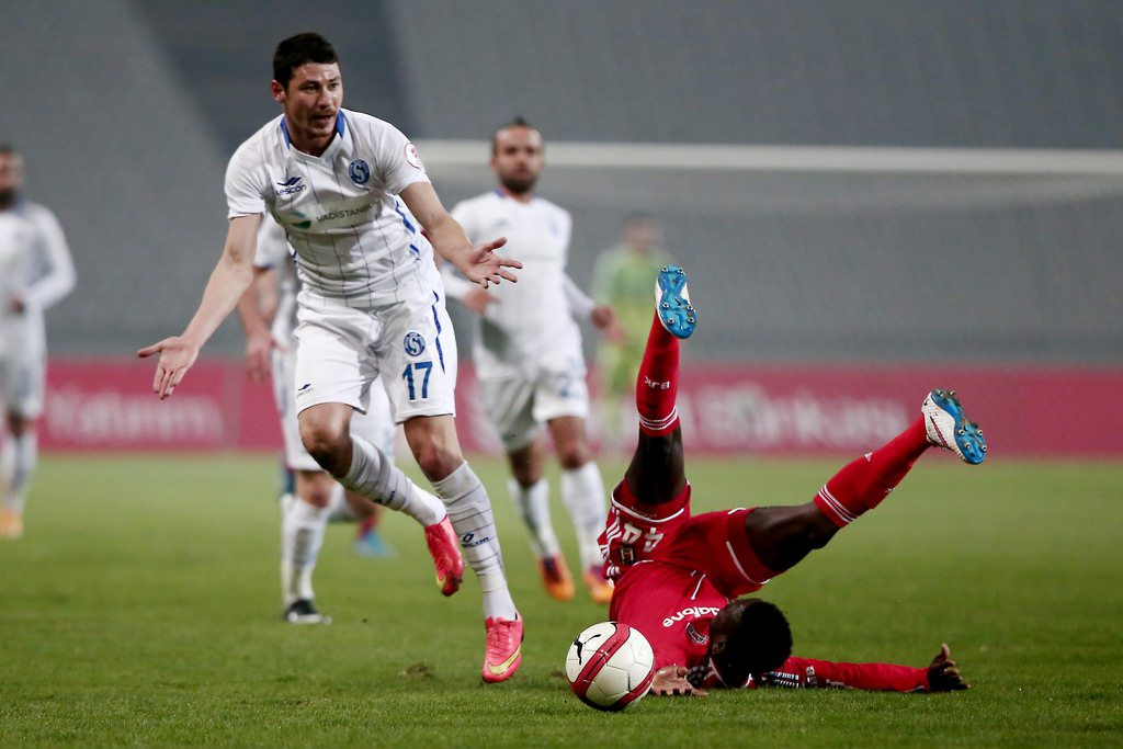 Beşiktaş - Sarıyer maçından kareler