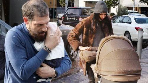 Bilic bebeğiyle ilk kez görüntülendi