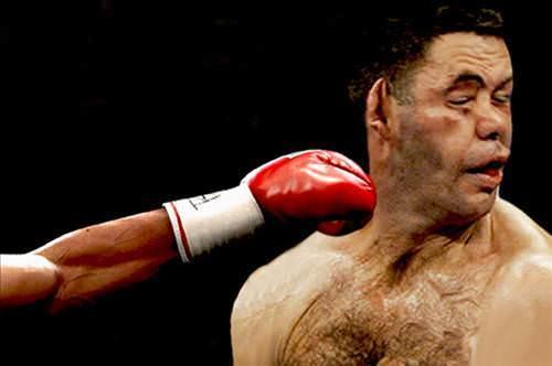 Böyle boks maçı görülmedi!