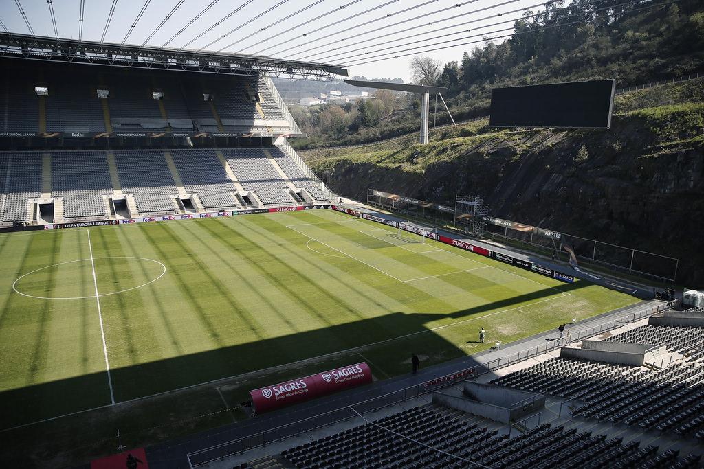 """Braga'nın """"sanat eseri"""" stadı"""