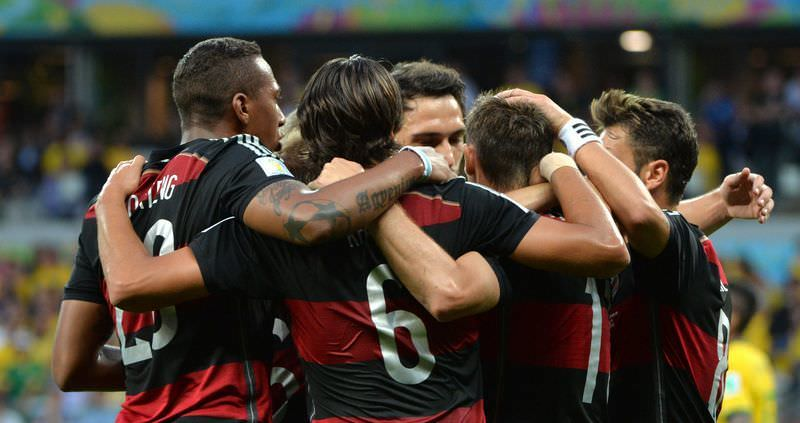 Brezilya - Almanya maçından fotoğraflar