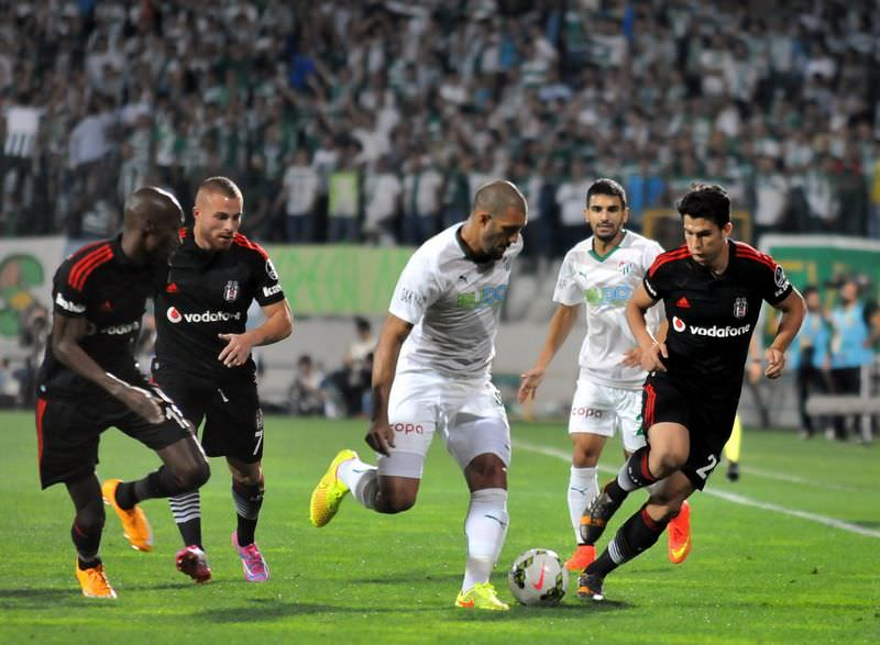 Bursaspor - Be�ikta� ma��n�n foto�raflar�
