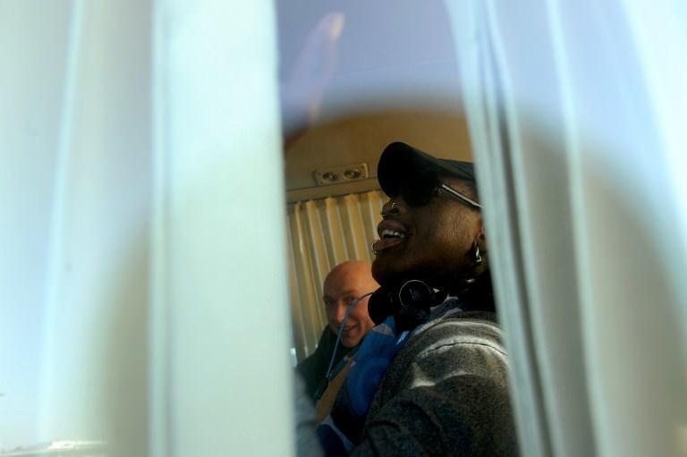 Dennis Rodman Kim'in doğum gününde