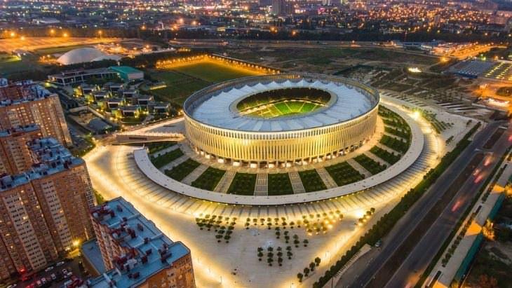 Dünyanın en lüks stadını Türkler yaptı