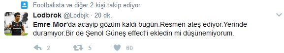 Emre Mor golü attı sosyal medya yıkıldı