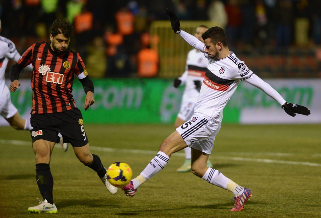 Eskişehirspor - Beşiktaş maçının fotoğrafları