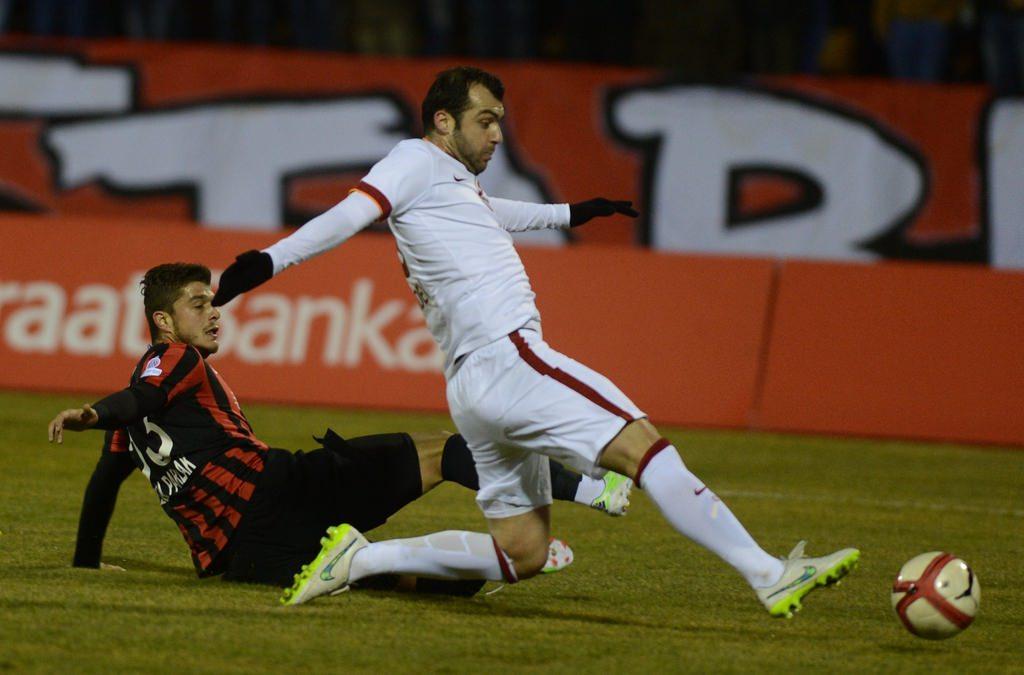 Eskişehirspor - Galatasaray maçının fotoğrafları