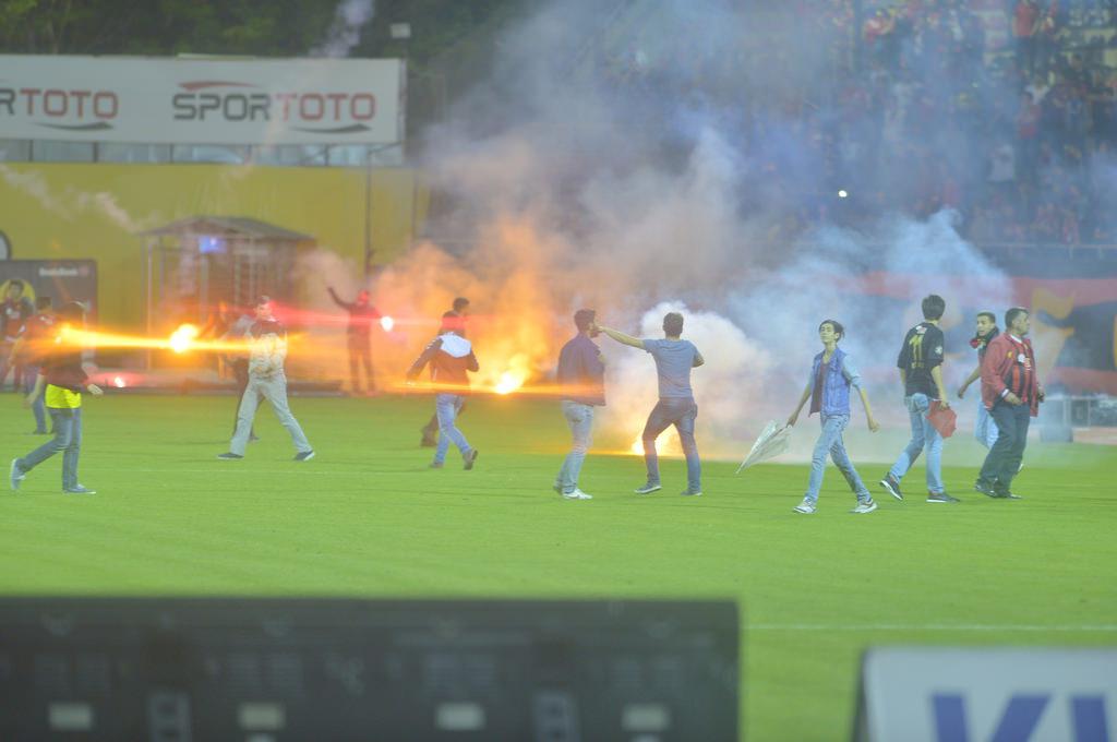 Вболівальники Ескішехірспора підпалили стадіон після вильоту команди з Суперліги - изображение 2