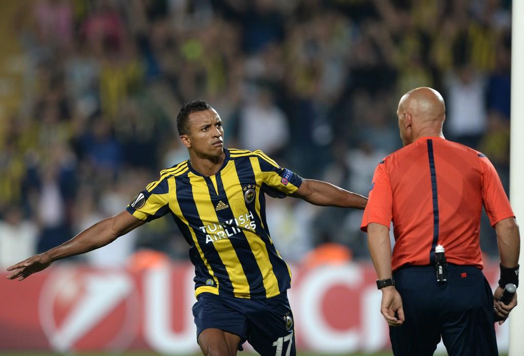 Fenerbahçe- Molde maçından kareler