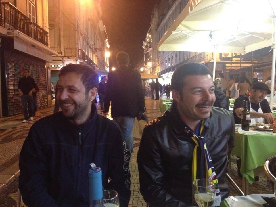 Fenerbahçe taraftarları Portekiz'de