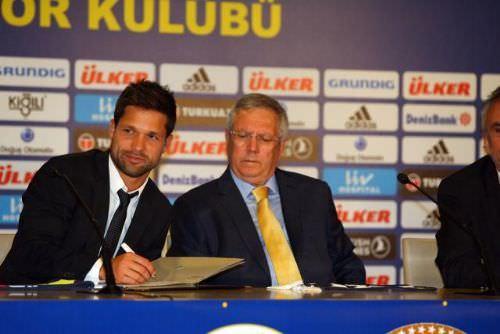 Fenerbahçe'de Diego Ribas imza attı