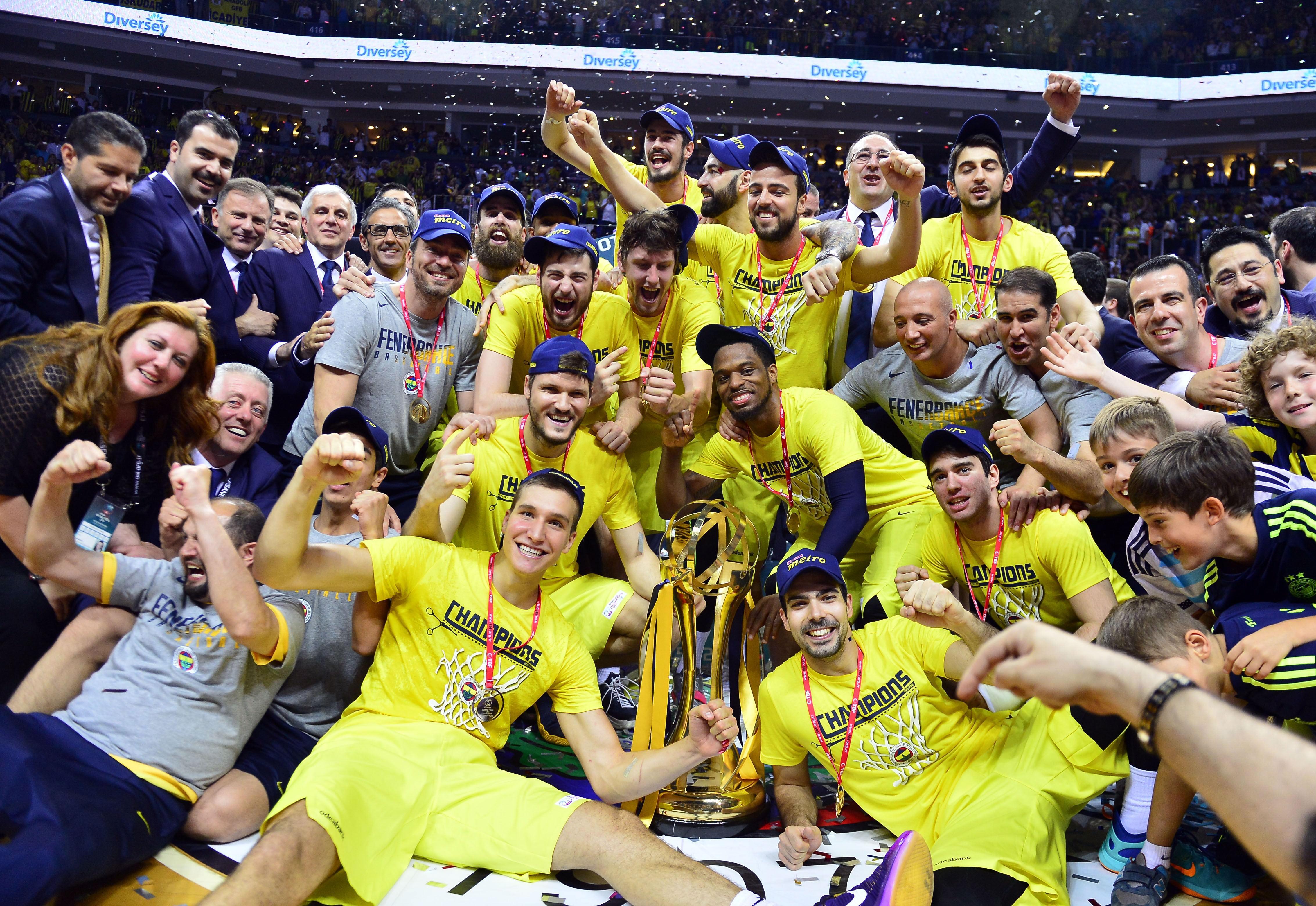 Fenerbahçe'nin şampiyonluğundan kareler