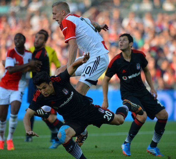 Feyenoord - Be�ikta� ma��n�n foto�raflar�