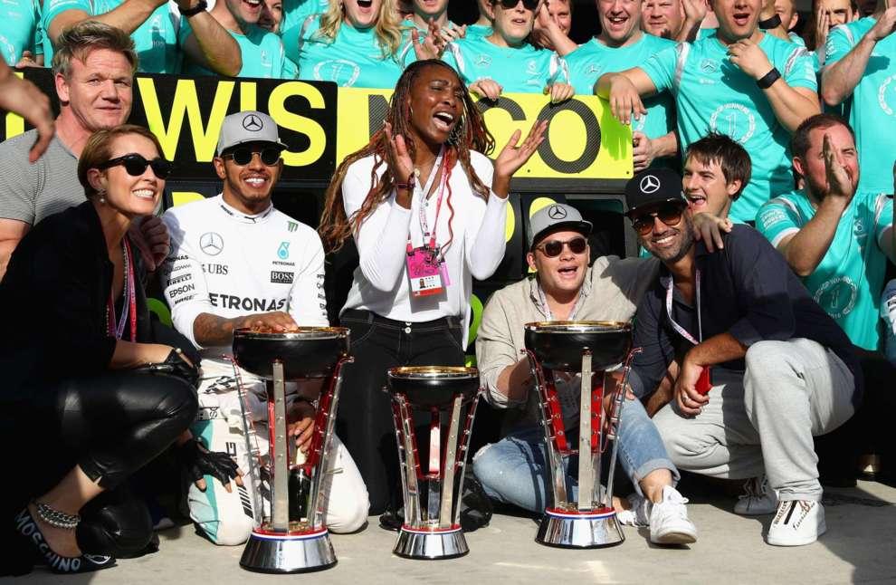 Formula 1 ABD Grand Prix'sine ünlü akını