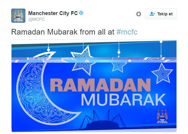 Futbol dünyası Ramazan'ı sevinçle karşıladı