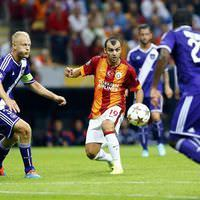 Galatasaray - Anderlect  ma��n�n foto�raflar�