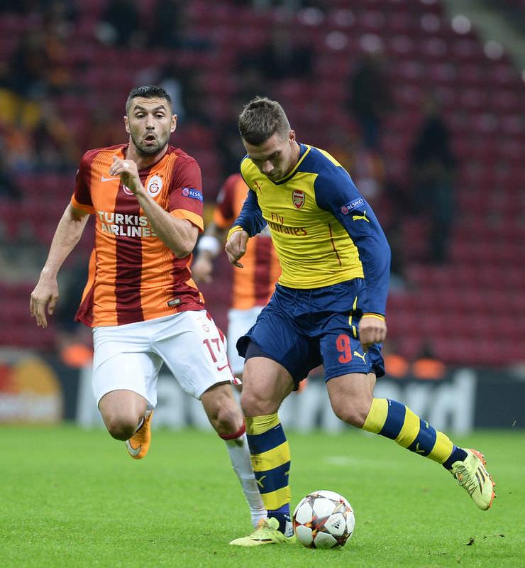 Galatasaray - Arsenal maçının fotoğrafları