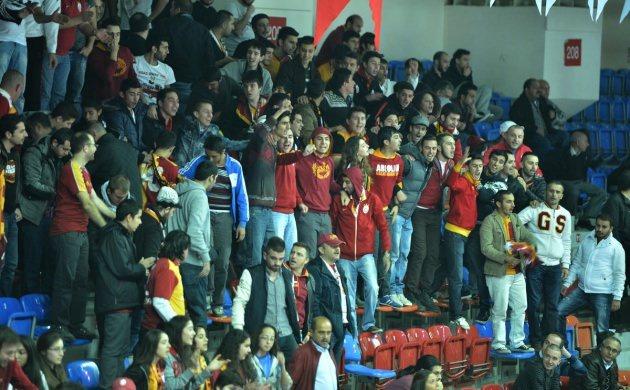 Galatasaray Daikin - Fenerbahçe maçından kareler