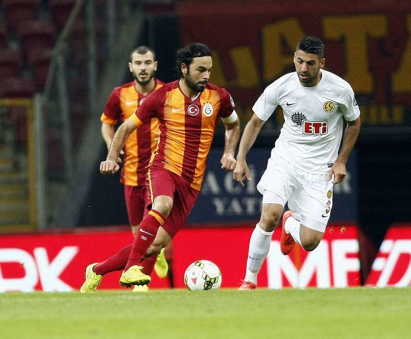 Galatasaray - Eski�ehirspor ma��n�n foto�raflar�