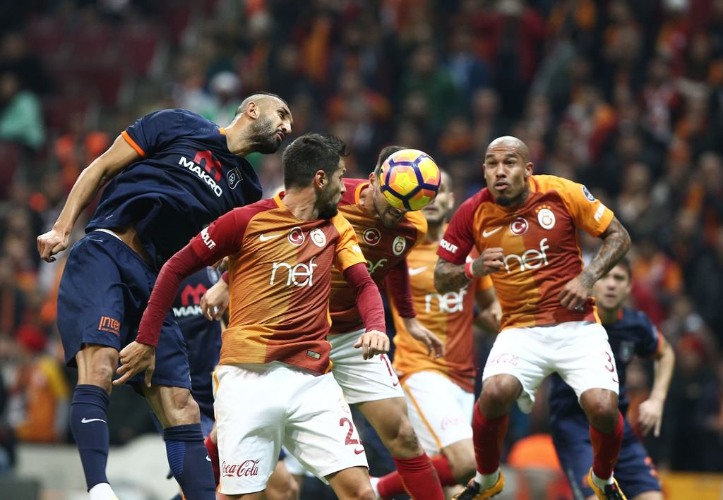 Galatasaray-Medipol Başakşehir maçından kareler