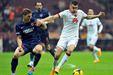 Galatasaray - Mersin İdmanyurdu karşılaşmasından kareler