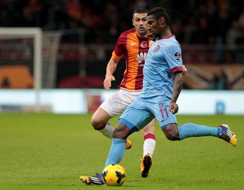 Galatasaray - Trabzonspor maçının fotoğrafları