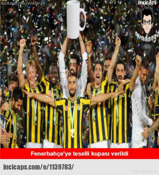 Galatasaray'ın şampiyonluk caps'leri..