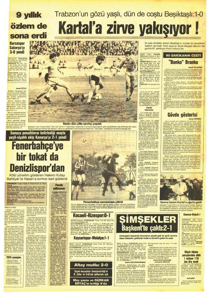Geçmişten günümüze Beşiktaş-Trabzonspor rekabeti