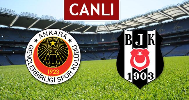 Gençlerbirliği - Beşiktaş Maçını Canlı Anlatım Olarak İzle (Şifresiz veren kanallar)