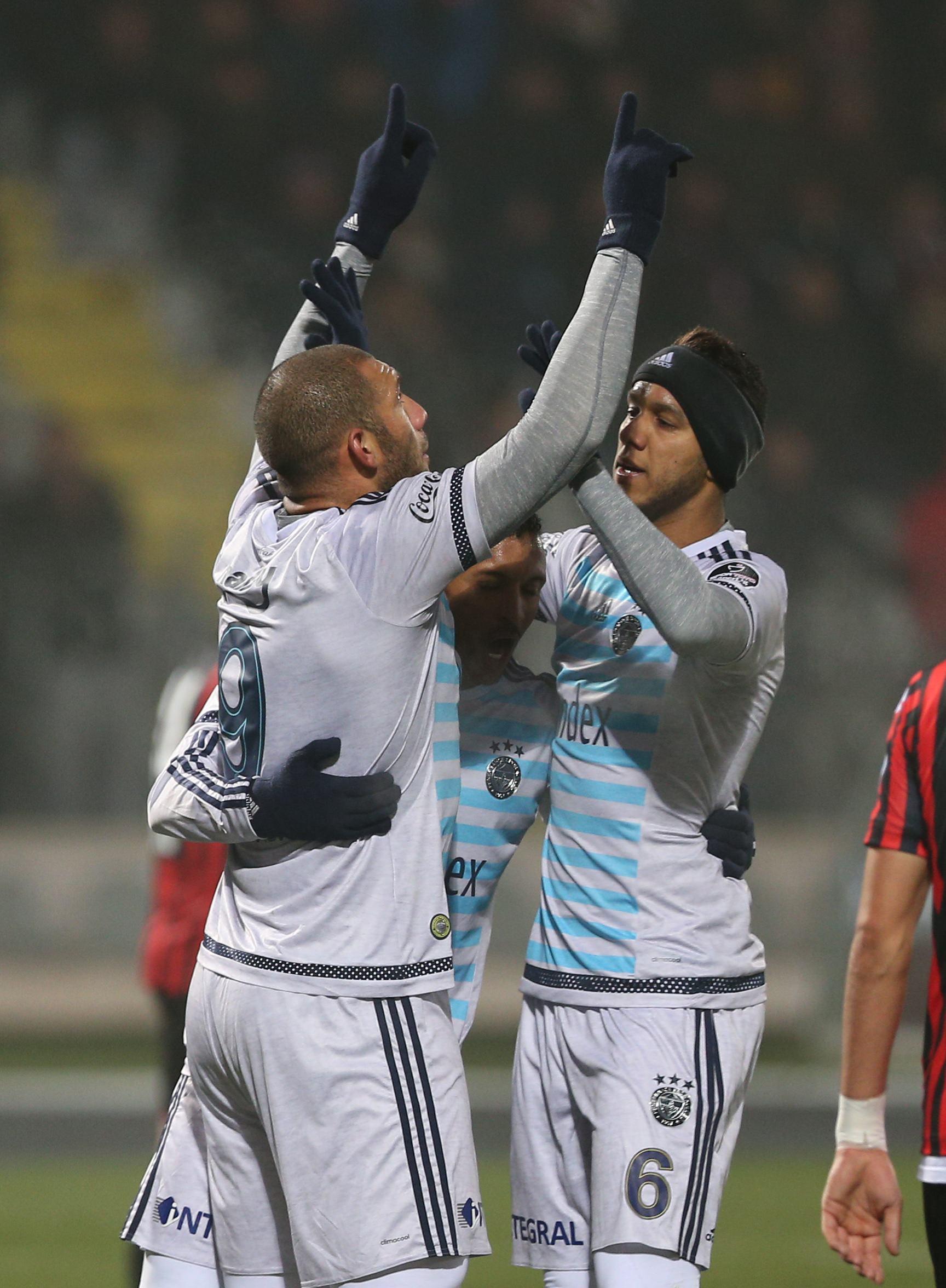 Gençlerbirliği Fenerbahçe maçından kareler