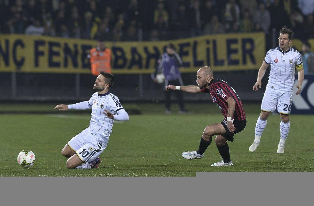 Gençlerbirliği-Fenerbahçe maçından kareler