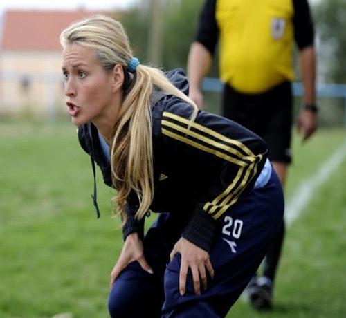 Hırvat Ligi'nde bir kadın teknik direktör: Tihana Nemcic