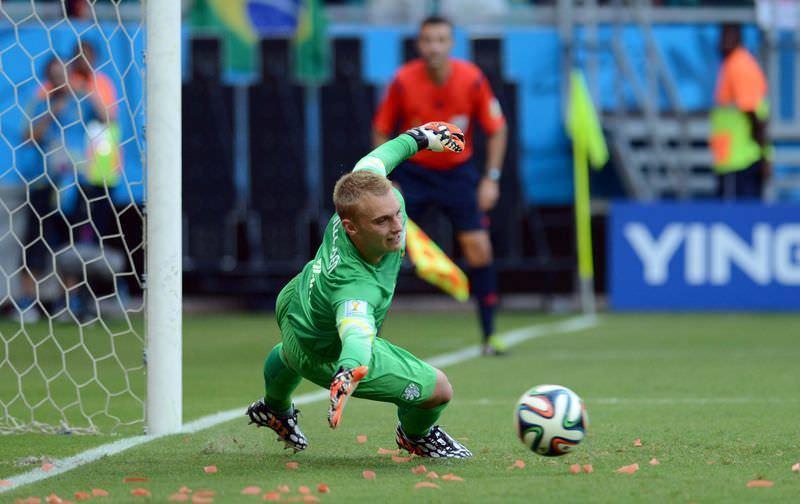 İspanya-Hollanda maçından kareler