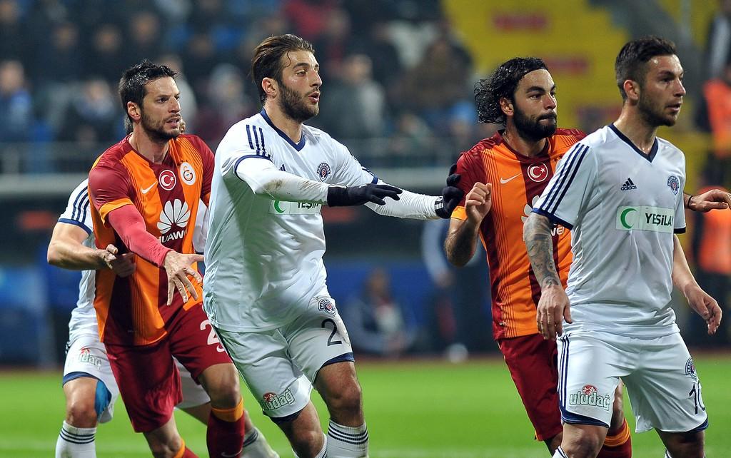 Kasımpaşa-Galatasaray maçından kareler