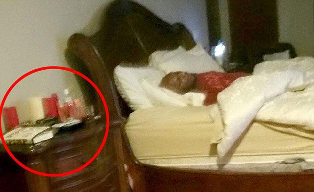 Lamar Odom'un genelev odas� g�r�nt�leri ortaya ��kt�