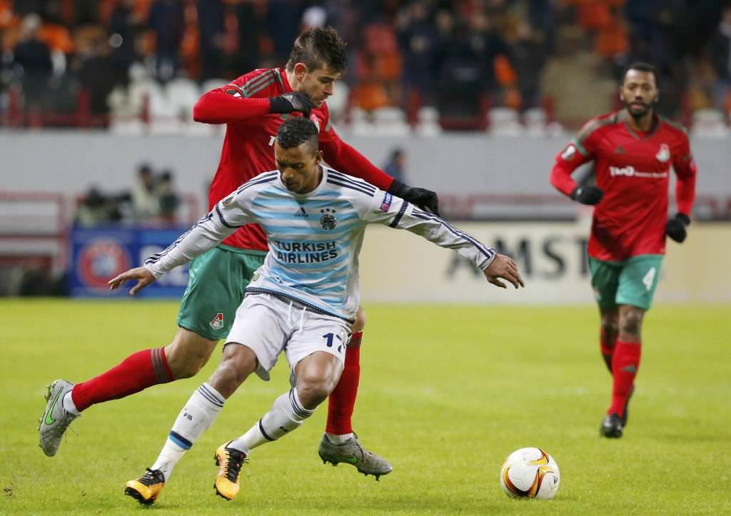 Lokomotif Moskova - Fenerbahçe maçından kareler