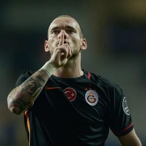 Medipol Başakşehir-Galatasaray maçından kareler