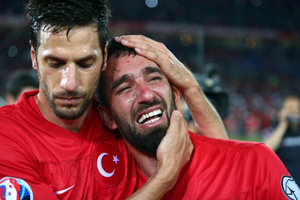 Millilerin sevinç gözyaşları