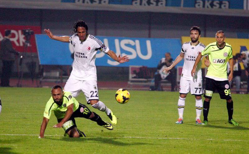 MP Antalyaspor - Fenerbahçe maçından kareler