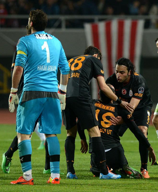 MP Antalyaspor - Galatasaray maçından kareler