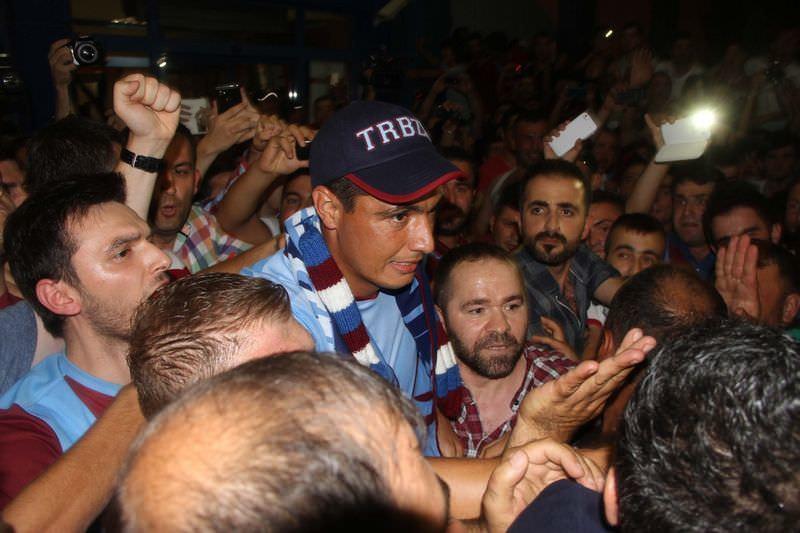 Oscar Cardozo Türkiye'ye geldi