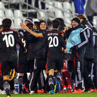 Partizan - Beşiktaş maçından kareler