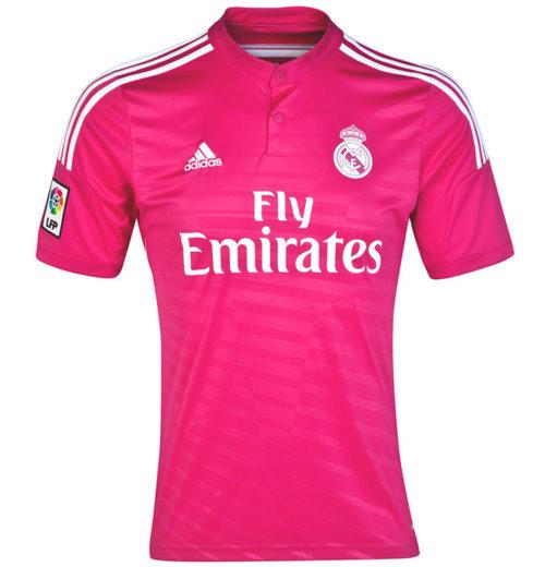 Real Madrid'den pembe forma